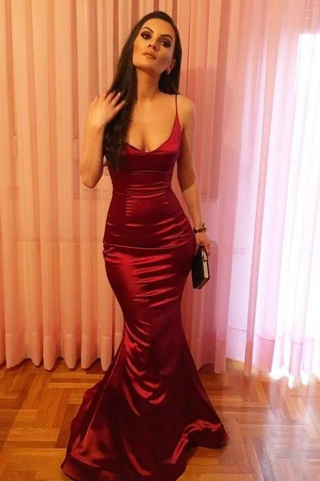 Satin Evening Dresses And Gowns Luulla